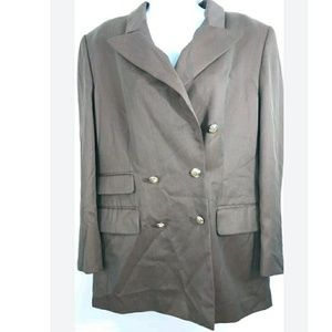 Escada Long Blazer Euro 42(US 12) 100% Virgin Wool